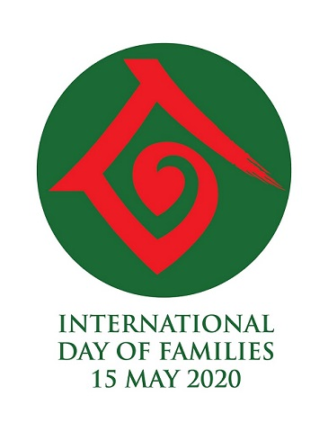 Logo International Day of Families 15 May 2020