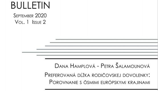 Titulná strana Bulletinu IVPR 9/2020