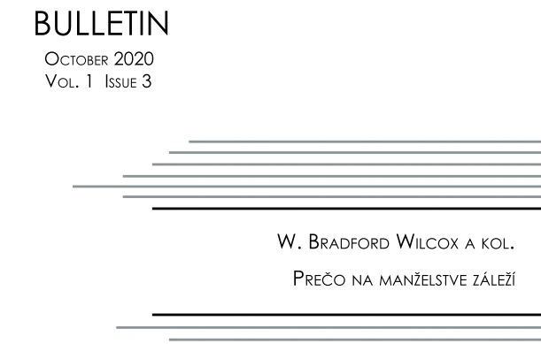 Titulná strana Bulletinu IVPR 3/2020