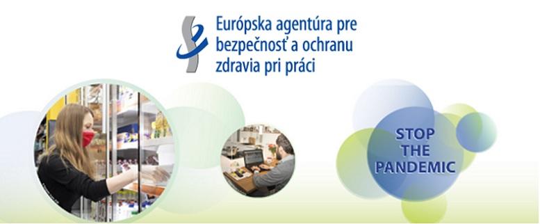 Európska agentúra pre bezpečnosť a ochranu zdravia pri práci - upútavka s logom