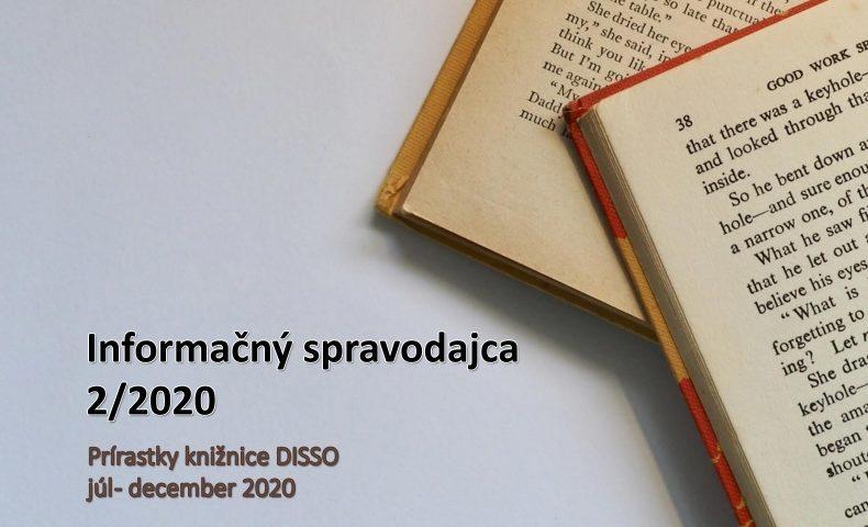 Titulna strana Informacneho spravodajcu 2/2020