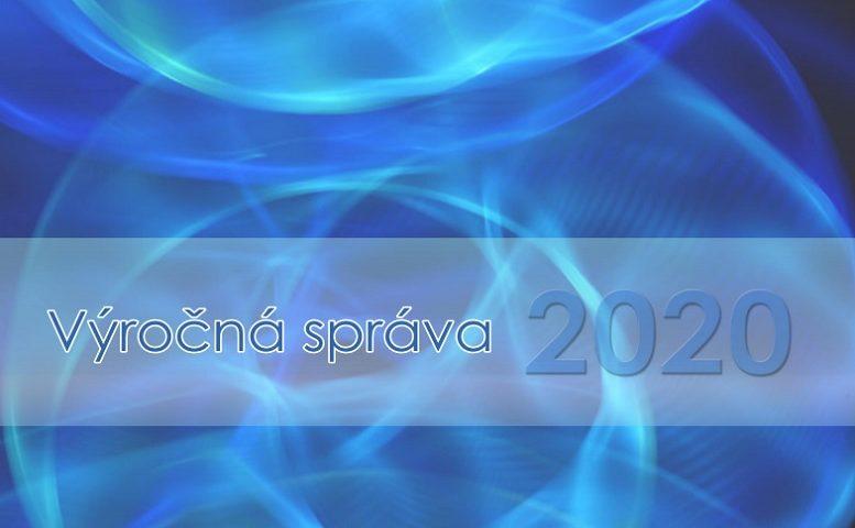 Titulná strana Výročnej správy IVPR za rok 2020