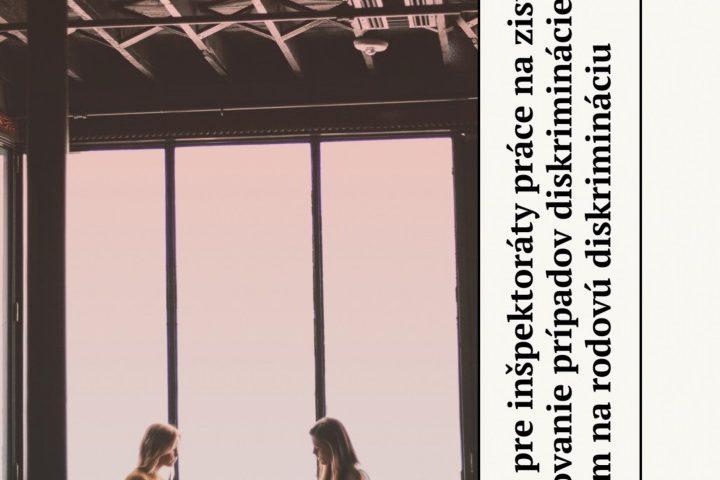 Titulná strana publikácie Metodika pre inšpektoráty práce na zisťovanie a posudzovanie prípadov diskriminácie so zameraním na rodovú diskrimináciu (Jarmila Lajčáková, 2020)