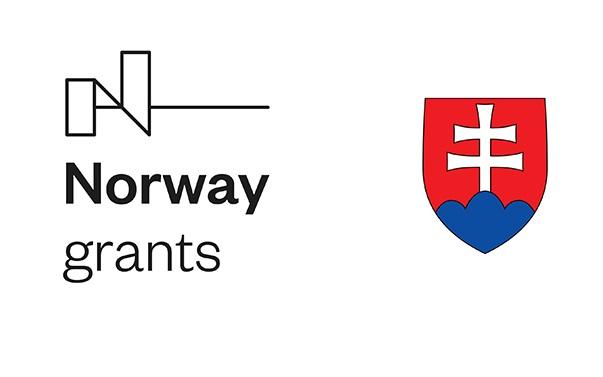 Logo Norway grants a slovenský štátny znak